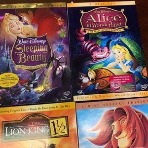 Disney DVD's lot of 6